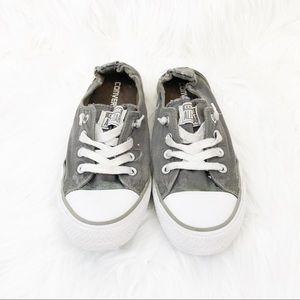 Converse Gray Sneakers Shoreline Chuck Taylors